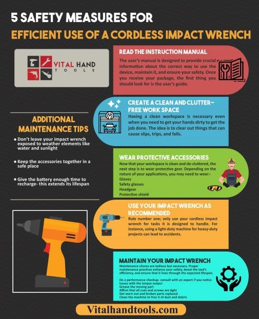 Cordless Impact Wrench Safety-5 Important Safety Precautions 1