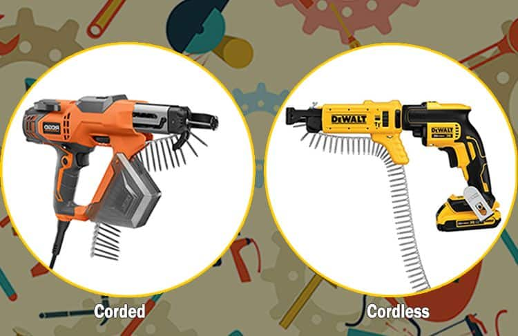Corded vs Cordless Electric Screwdriver