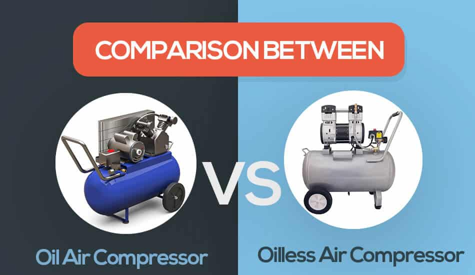 oil vs oilless air compressor
