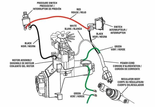 air compressor pressure switch diagram