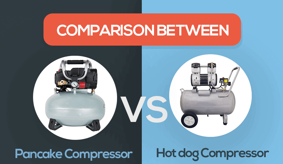 pancake vs hot dog compressor