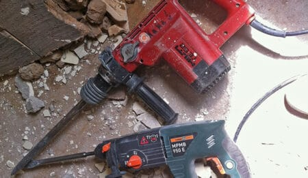 Renting a Hammer Drill