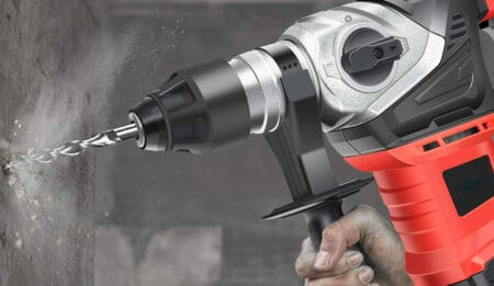 best corded hammer drill for concrete