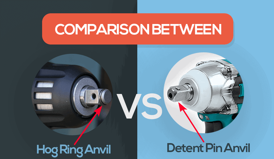 hog ring anvil vs detent anvil
