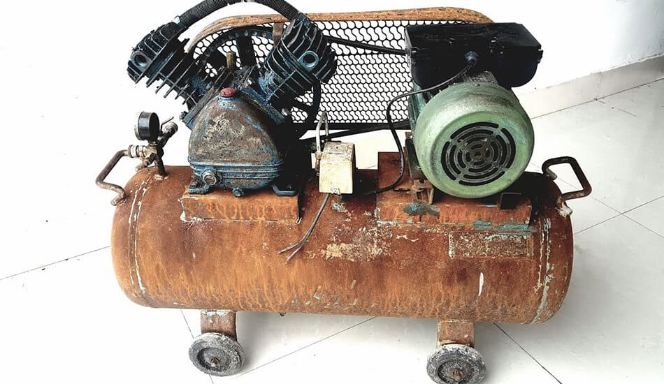 antique air compressor identification