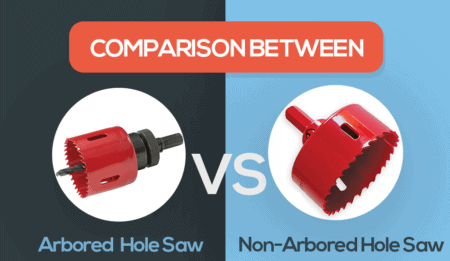 arbored vs non-arbored hole saw
