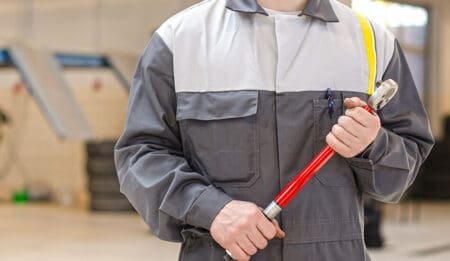 A Torque Wrench is Used to Tighten a Bolt When